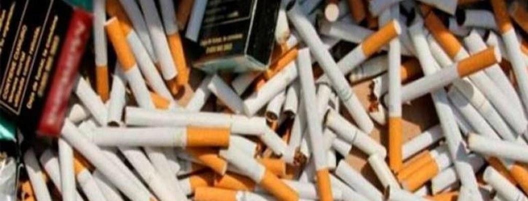 Federales incautan cargamento de cigarros pirata en Sinaloa