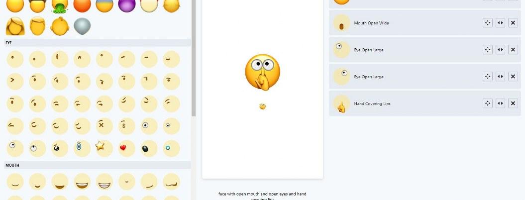 Emoji Builder, la web que te permite personalizar tus emojis