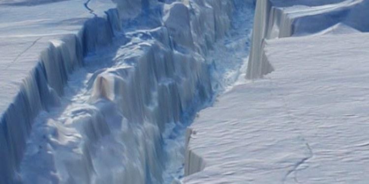 Revelan rompimiento de iceberg de 260 km cuadrados en la Antártida 1