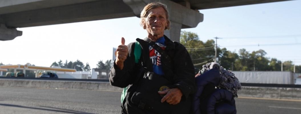 William, el Donald Trump nicaragüense que viaja en Caravana Migrante
