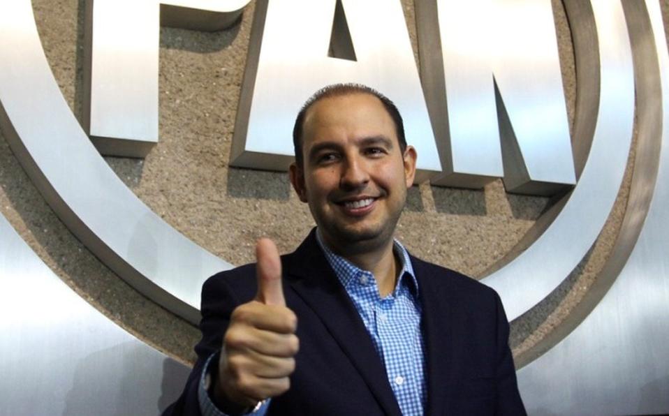 Marko Cortés nuevo dirigente del PAN