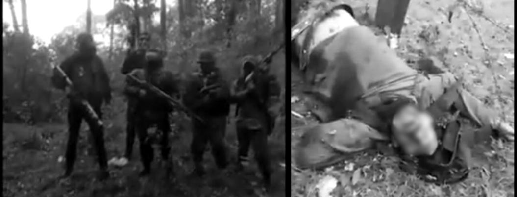 Exhiben asesinato de presuntos sicarios en la sierra de Guerrero