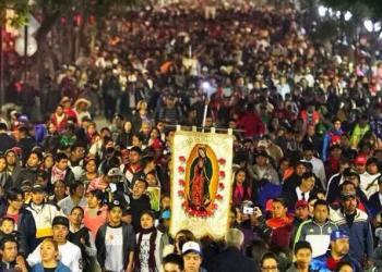 Peregrinos rompen récord de visitas a la Basílica de Guadalupe 1