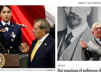 Obrador protagoniza portadas de medios internacionales 2
