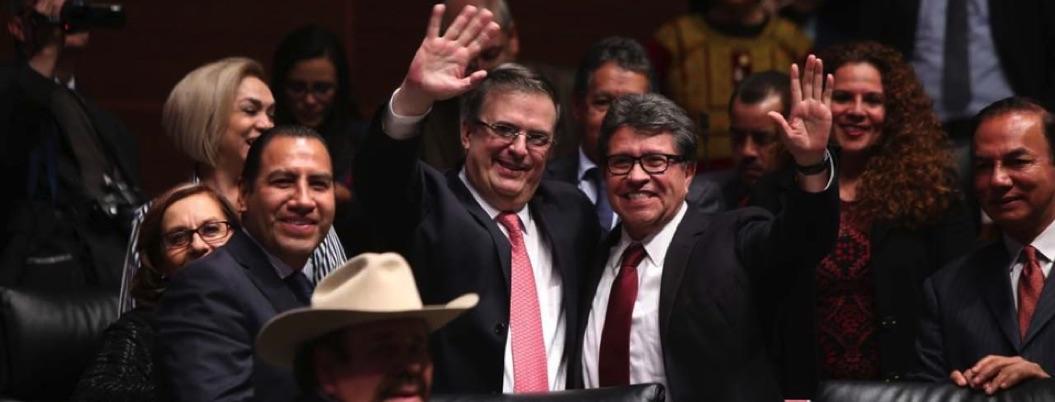 Senado ratifica nombramiento de Marcelo Ebrard al frente de SRE