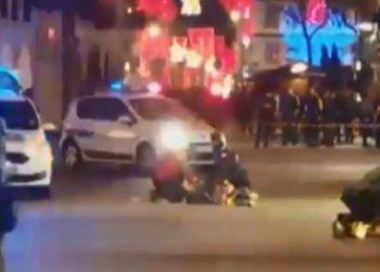 Inicia caza de autor del tiroteo en mercado navideño de Estrasburgo 2