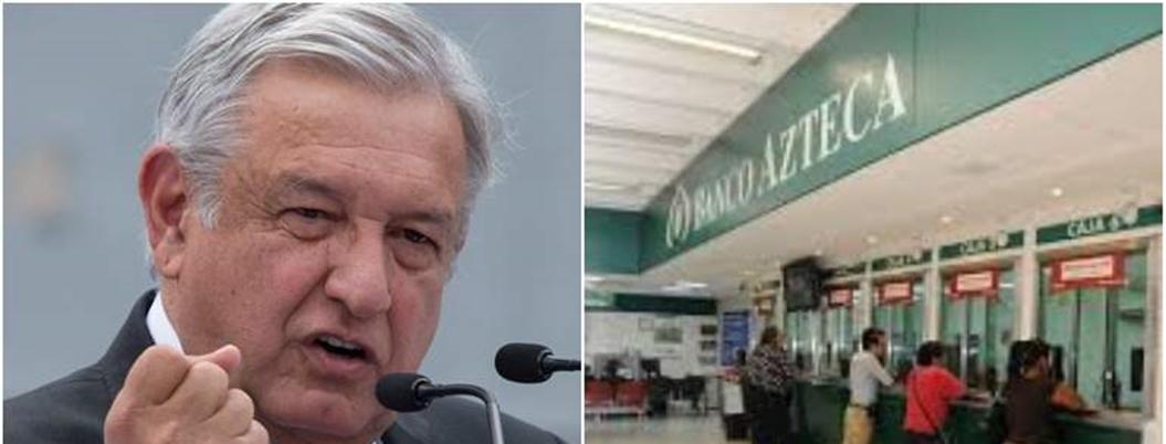 AMLO dio a Banco Azteca control de Tarjetas del Bienestar en lo oscurito