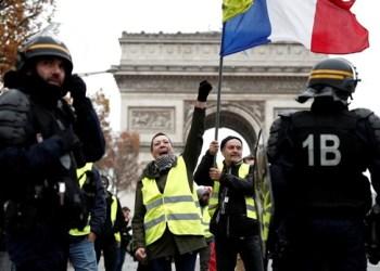 Chalecos amarillos toman París y ya van once sábados consecutivos 1