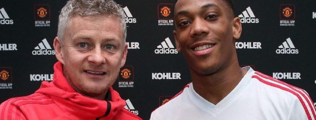 Manchester United renueva contrato a Anthony Martial hasta 2024