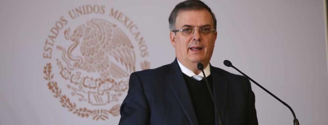"""""""No intervención"""" será el principio de la política exterior de México"""