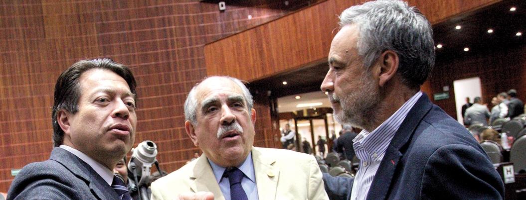 Mario Delgado le pide a los Reyes Magos aprobación de Guardia Nacional