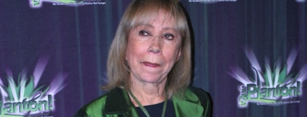 Muere la actriz Maty Huitrón a los 82 años
