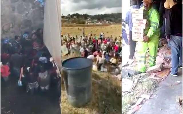 Videos exhiben rapiñas y desacatos al Ejército en zonas de riesgo
