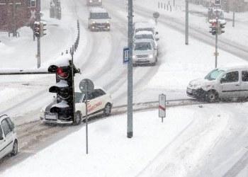 Francia en alerta máxima por extremo frío y caída de nieve 1