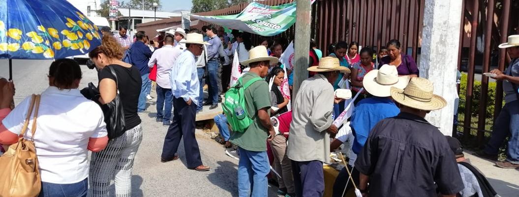 Campesinos acusan a Gaspar de no ayudarlos a trasladar fertilizante