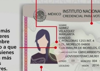 INE actualiza modelo de credencial para votar 1