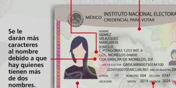 INE actualiza modelo de credencial para votar 12