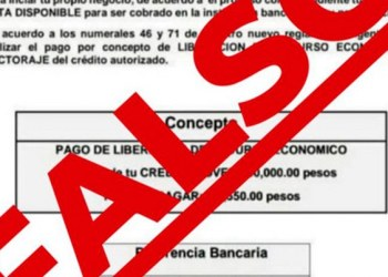 "Fraude: ""crédito joven"" promete darte 150 mil pesos a cambio de depósito 1"
