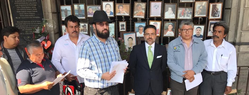 Exigen liberación de presunto preso político en Morelos