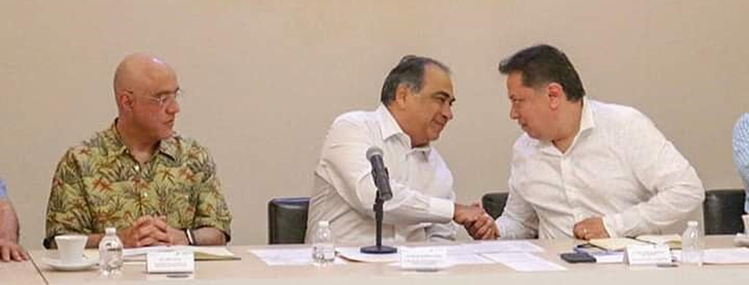 Astudillo y Sandoval garantizan fertilizante para todos los campesinos
