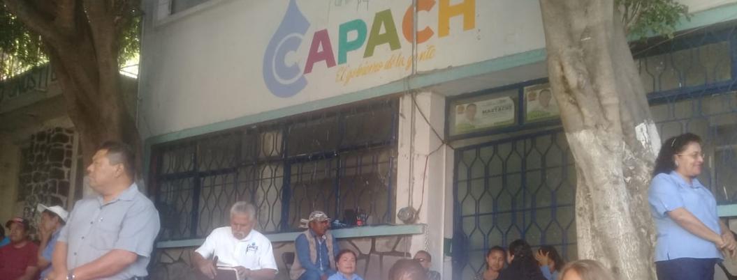 Sindicalizados dejan sin agua a Chilpancingo por apatía del alcalde