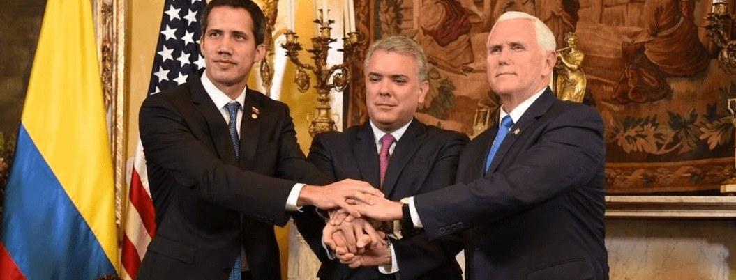 Guaidó se alía con Grupo Lima para derrocar a Maduro