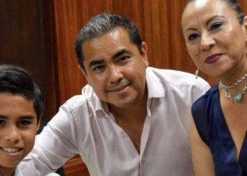 Javier Solorio y Cabildo Infantil