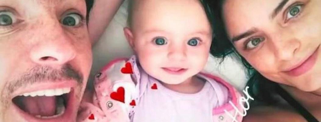 Aislinn Derbez presume festejo del primer año de su hija Kailani