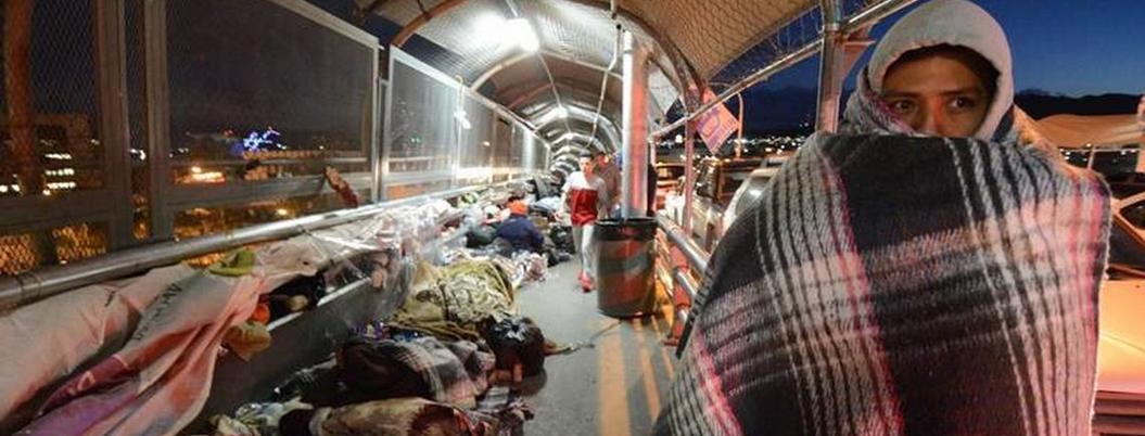 Migrantes expulsados por Trump saturan albergues de Ciudad Juárez