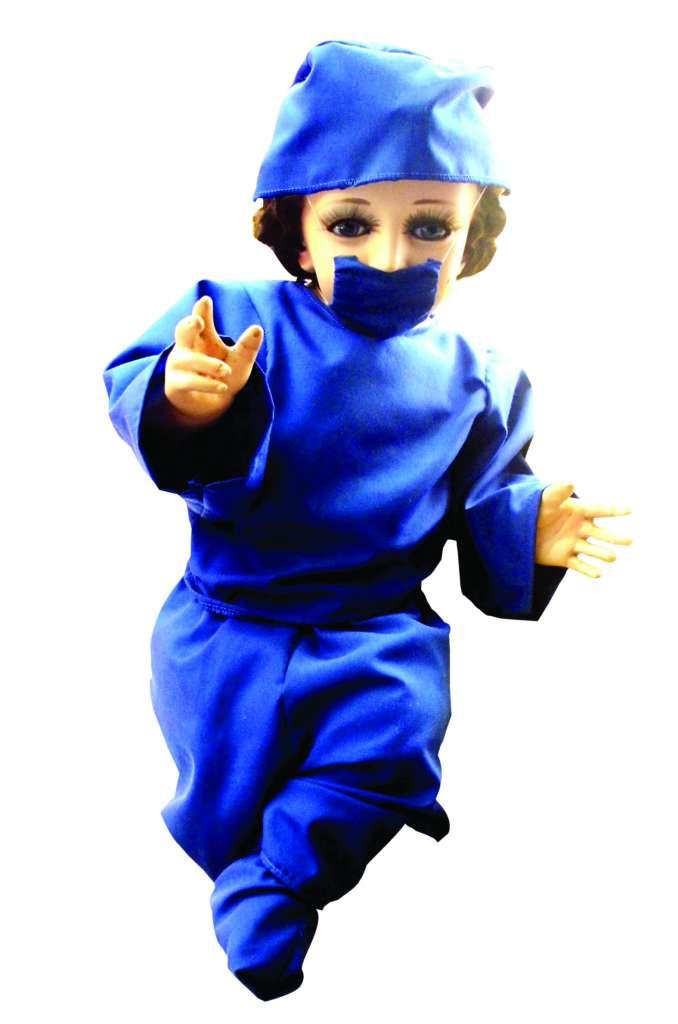 El Niño Dios y sus nuevos outfits 3