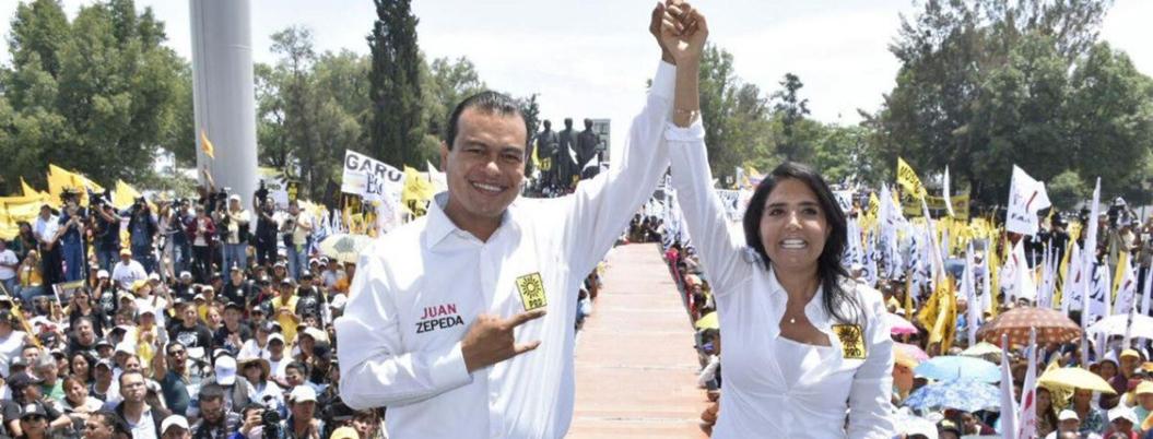 Barrales y Zepeda alistan las maletas para huir del PRD