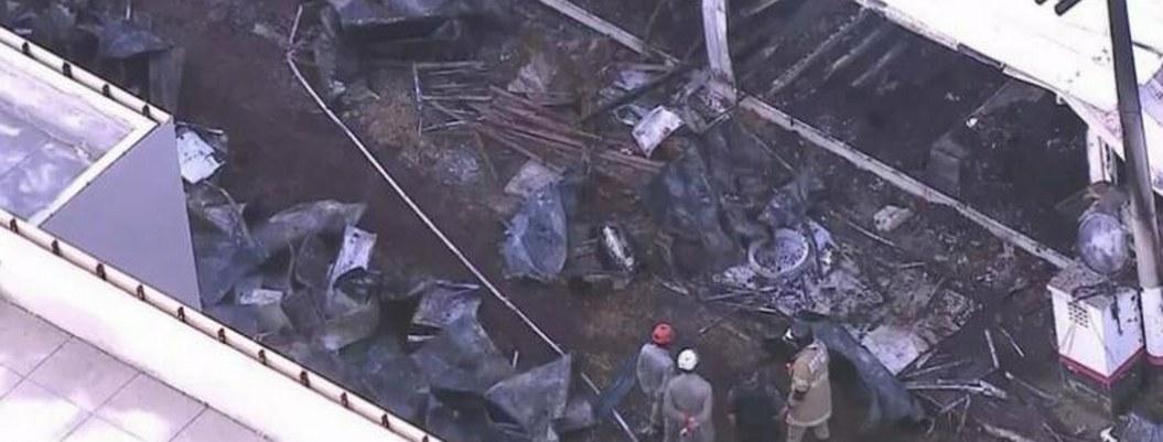 Mueren 10 en incendio del Centro de Entrenamiento de equipo Flamengo