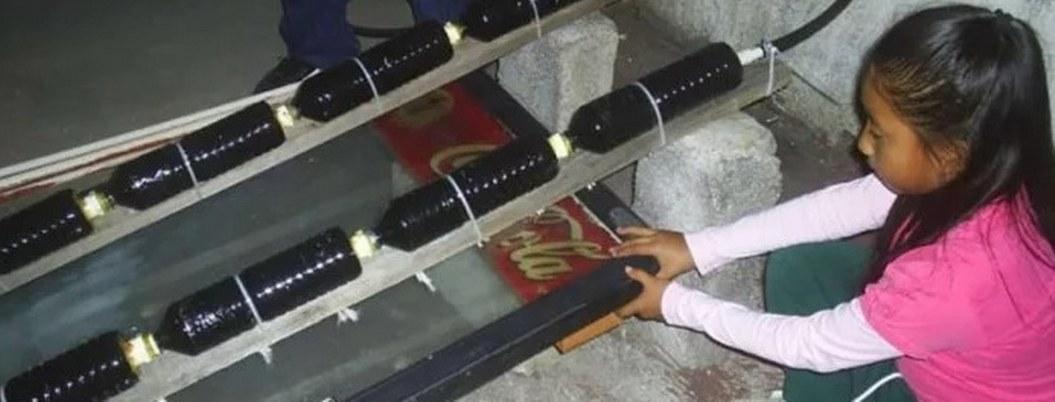 Niña mexicana inventa calentador solar y recibe reconocimiento