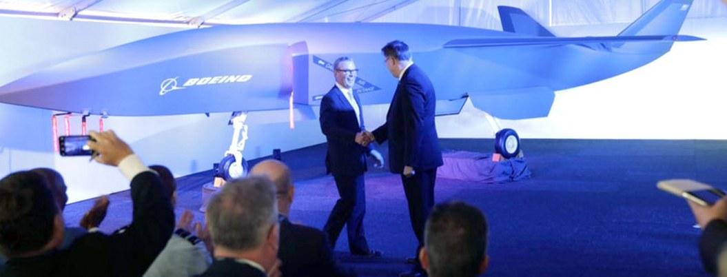 Boeing presenta avión no tripulado de combate diseñado para Australia