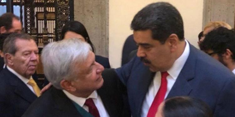 AMLO Maduro