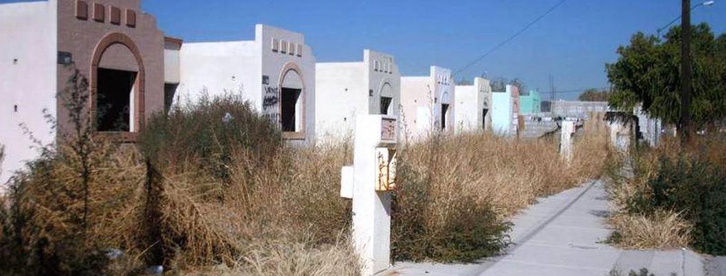 Inseguridad y falta de servicios deshabita a más de 5 millones de casas