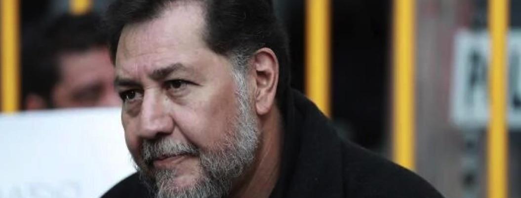 Noroña llama insolentes a panistas que piden destitución de Muñoz Ledo