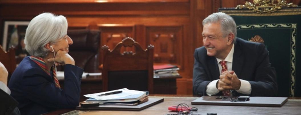 AMLO plantea nuevo enfoque de relación con FMI