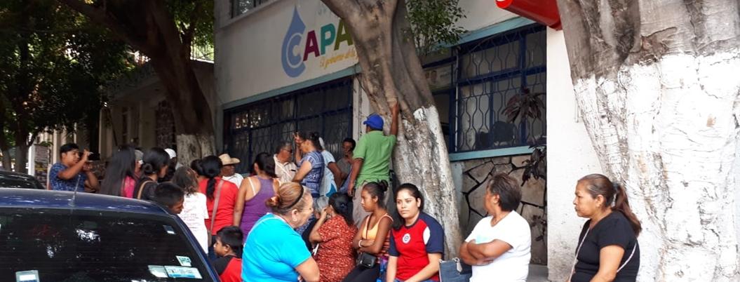 """""""Usan a la Capach con fines clientelares"""", denuncian ciudadanos"""