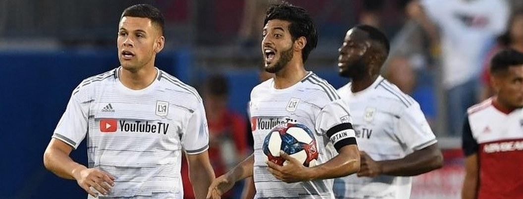 Vela mantiene ritmo goleador y rescata empate para Los Ángeles