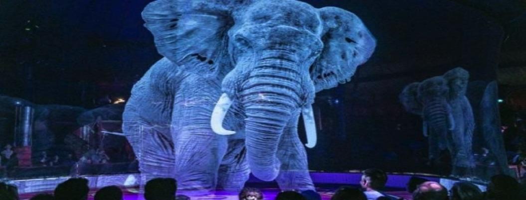 Circo opta por hologramas en su show para evitar maltrato animal