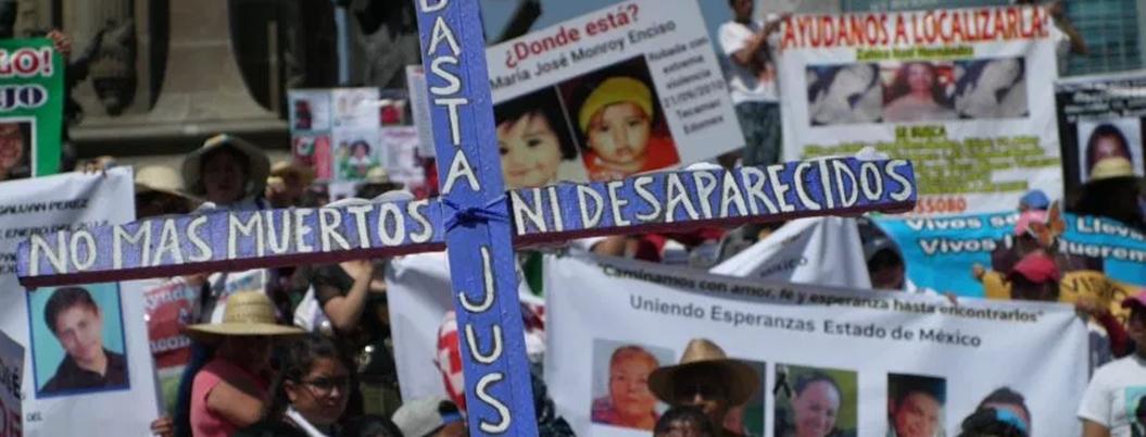 Desaparecidos y feminicidios le quitan el sueño a Obrador