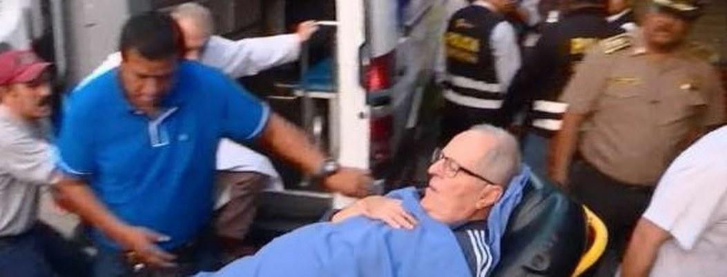 Kuczynski sale de hospital; gozará arresto domiciliario por Odebrecht