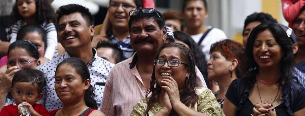 Mexicanos, felices, felices pero... la inseguridad sí golpea su ánimo