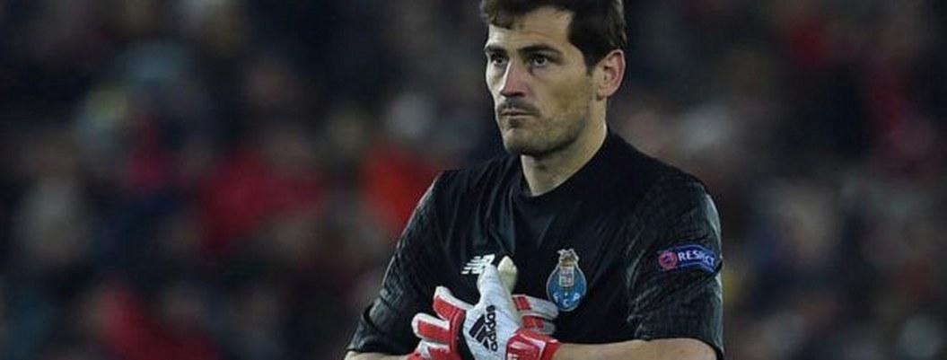 Iker Casillas se infarta en entrenamiento con el Porto