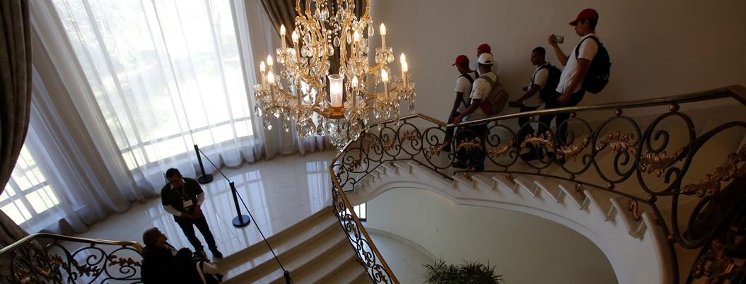 Expresidentes remodelaron con lujos y caprichos a Los Pinos