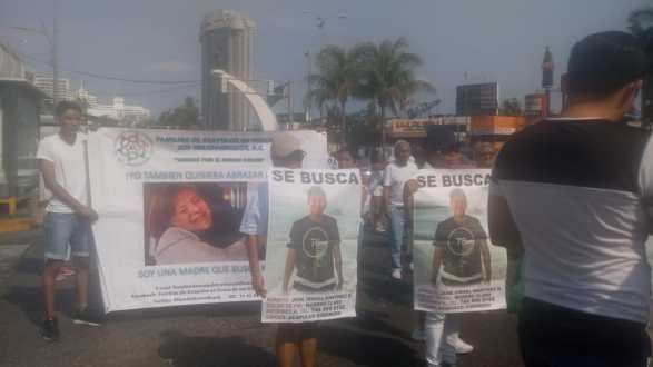 Madres desaparecidos Marcha 1