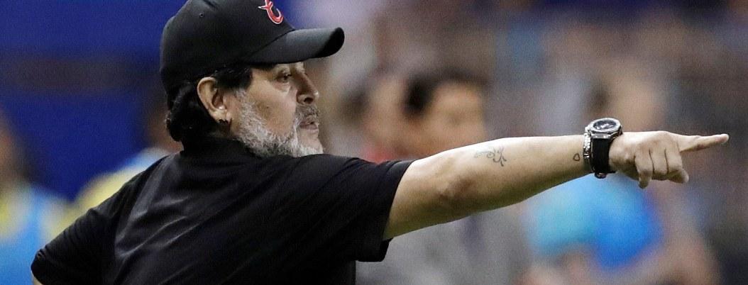 Maradona condiciona su estancia en Dorados; están sus exigencias