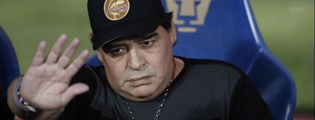 Ofrecen a Maradona dirigir un club de futbol argentino