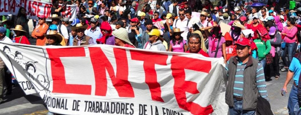 Marcha de 1 de mayo, cargada de consignas contra reforma educativa